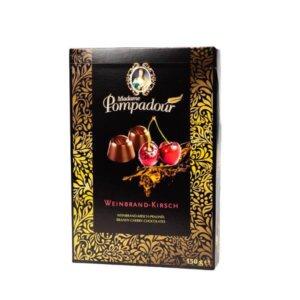 לה ולי פרחים - שוקולד מריר ממולא דובדבן וברנדי