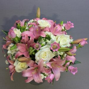 ורוד חלומי - לה ולי פרחים