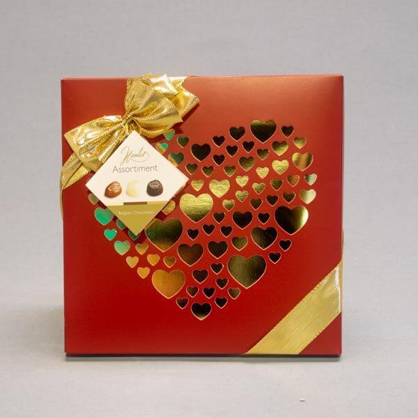 לה ולי פרחים -שוקולדים - מארז פרלינים בלגי איכותי
