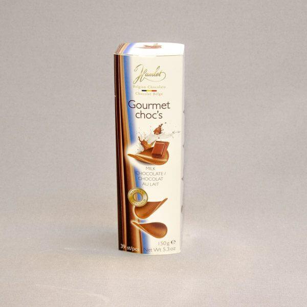 לה ולי פרחים - שוקולדים - דפדפי שוקולד חלב מעולה