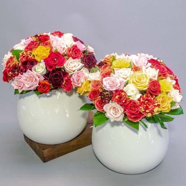 כדור רומנטי - לה ולי פרחים