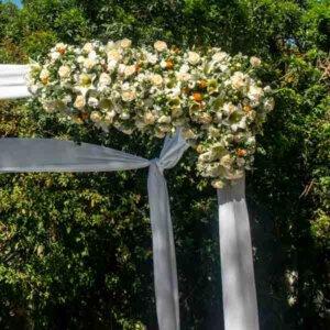 עיצוב קלאסי לחופה - לה ולי פרחים