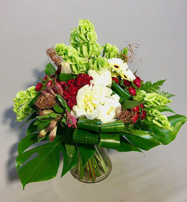 בוקט מודרני משודרג - לה ולי פרחים