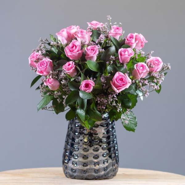 לה ולי פרחים - ורדים ורוד בייבי - משלוחי פרחים בחיפה