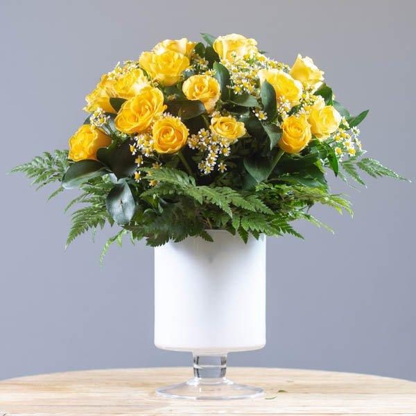 לה ולי פרחים - ורדים שמש - משלוחי פרחים בחיפה