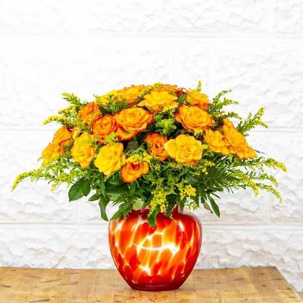 לה ולי פרחים - ורדי קונפטי - משלוחי פרחים בחיפה