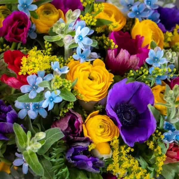 לה ולי פרחים - זר פרחי בר -משלוחי פרחים בחיפה