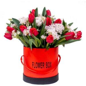 לה ולי פרחים - בוקס אהבה צבעונית