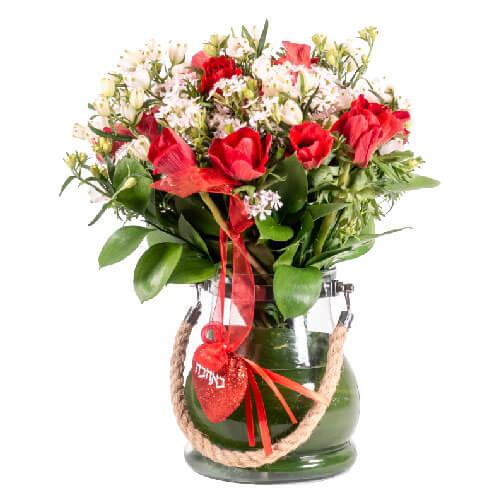 לה ולי פרחים - זר אוהבים