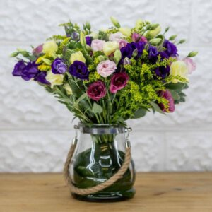 לה ולי פרחים - ליזינטוס צוהל