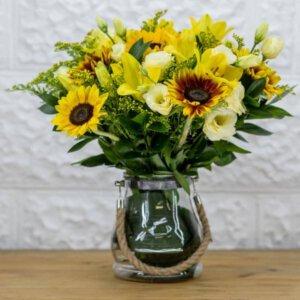 לה ולי פרחים - שמש עליזה