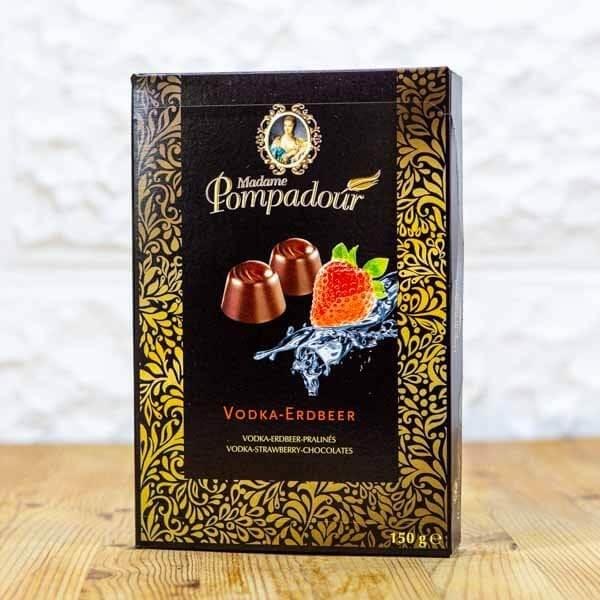 לה ולי פרחים - שוקולד במילוי וודקה ותות שדה