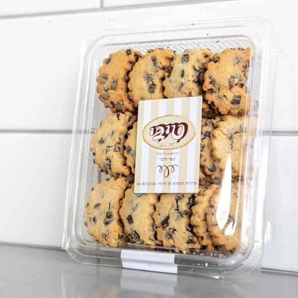 לה ולי פרחים - עוגיות חמאה שוקולד צ׳יפס